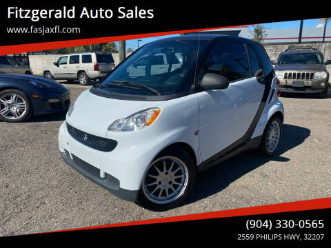2008 Smart fortwo for sale at Fitzgerald Auto Sales in Jacksonville FL