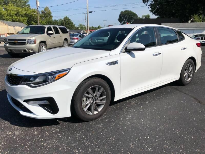 2020 Kia Optima for sale at Teds Auto Inc in Marshall MO