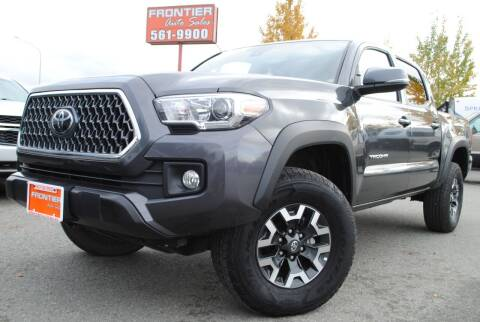 2019 Toyota Tacoma for sale at Frontier Auto & RV Sales in Anchorage AK