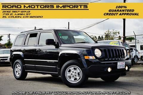 2014 Jeep Patriot for sale at Road Motors Imports in El Cajon CA
