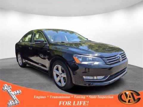 2015 Volkswagen Passat for sale at VA Cars Inc in Richmond VA