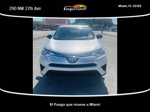 2017 Toyota RAV4 for sale at Fuego's Cars in Miami FL