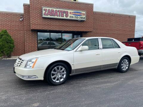 2010 Cadillac DTS for sale at Zarate's Auto Sales in Caledonia WI