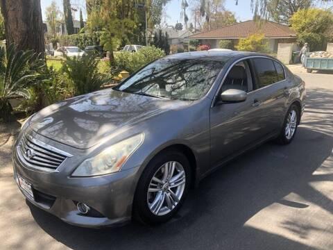2011 Infiniti G25 Sedan for sale at Boktor Motors in North Hollywood CA