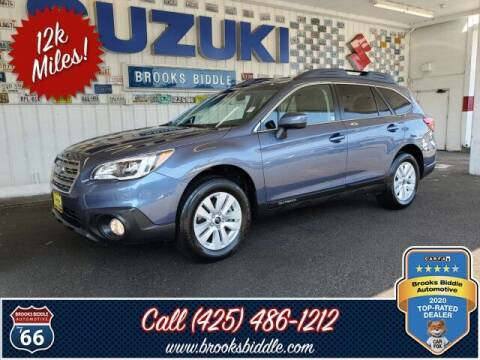 2017 Subaru Outback for sale at BROOKS BIDDLE AUTOMOTIVE in Bothell WA