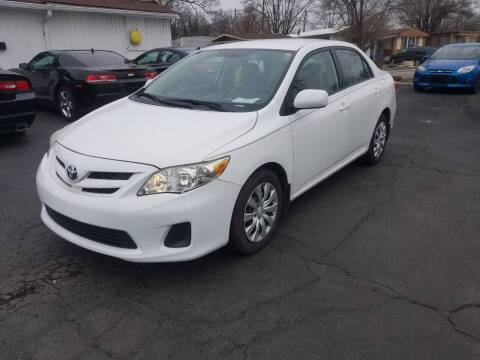 2012 Toyota Corolla for sale at Nonstop Motors in Indianapolis IN