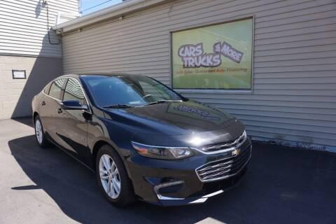 2018 Chevrolet Malibu for sale at Cars Trucks & More in Howell MI
