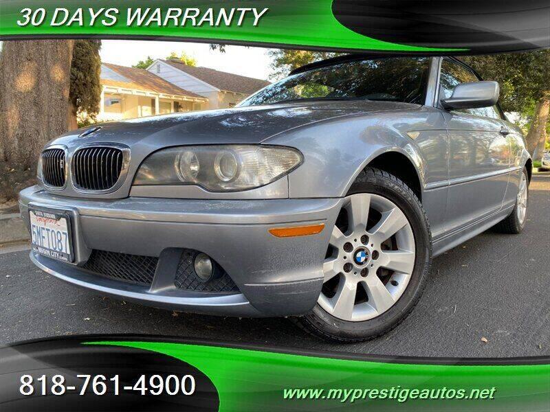 2005 BMW 3 Series for sale at Prestige Auto Sports Inc in North Hollywood CA