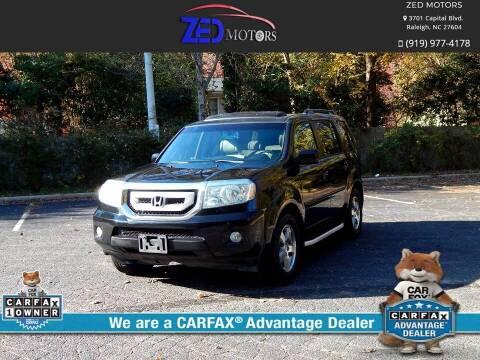 2011 Honda Pilot for sale at Zed Motors in Raleigh NC