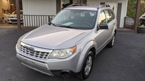 2011 Subaru Forester for sale at Kidron Kars INC in Orrville OH