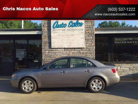 2006 Hyundai Sonata for sale at Chris Nacos Auto Sales in Derry NH
