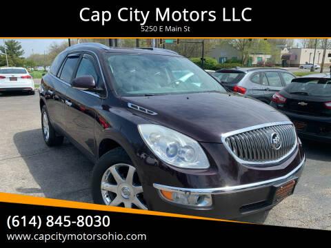 2009 Buick Enclave for sale at Cap City Motors LLC in Columbus OH