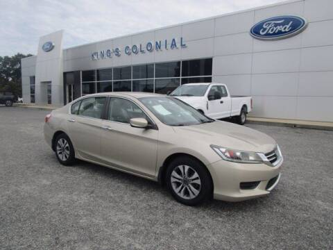 2015 Honda Accord for sale at King's Colonial Ford in Brunswick GA