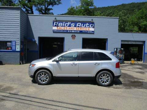 2012 Ford Edge for sale at Reid's Auto Sales & Service in Emporium PA