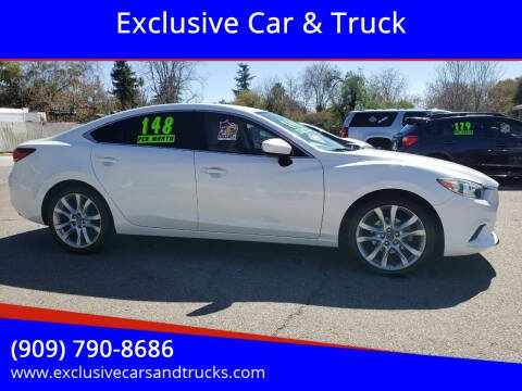 2014 Mazda MAZDA6 for sale at Exclusive Car & Truck in Yucaipa CA