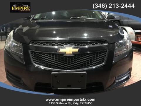 2014 Chevrolet Cruze for sale at EMPIREIMPORTSTX.COM in Katy TX