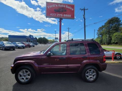 2003 Jeep Liberty for sale at Ford's Auto Sales in Kingsport TN
