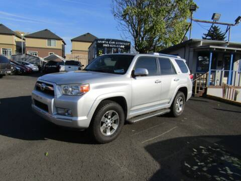 2010 Toyota 4Runner for sale at ARISTA CAR COMPANY LLC in Portland OR