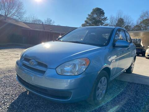 2007 Hyundai Accent for sale at Efficiency Auto Buyers in Milton GA