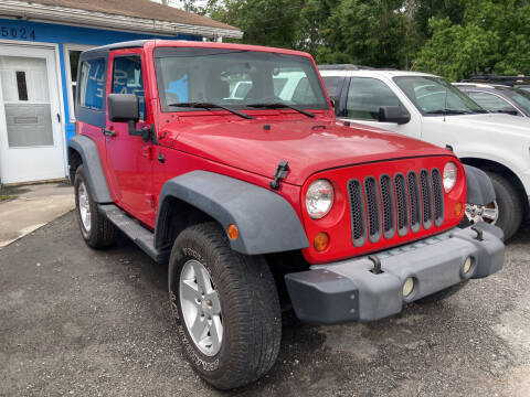 2007 Jeep Wrangler for sale at The Peoples Car Company in Jacksonville FL