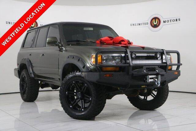 1991 Toyota Land Cruiser for sale at INDY'S UNLIMITED MOTORS - UNLIMITED MOTORS in Westfield IN