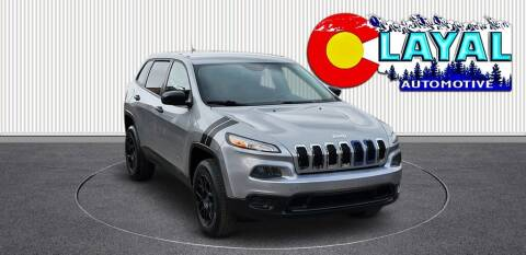 2015 Jeep Cherokee for sale at Layal Automotive in Englewood CO