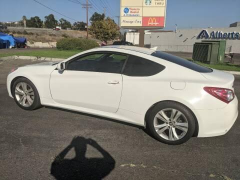 2012 Hyundai Genesis Coupe for sale at Gold Coast Motors in Lemon Grove CA