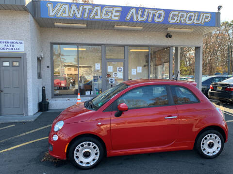 2012 FIAT 500 for sale at Vantage Auto Group in Brick NJ
