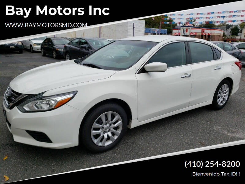 2017 Nissan Altima for sale at Bay Motors Inc in Baltimore MD