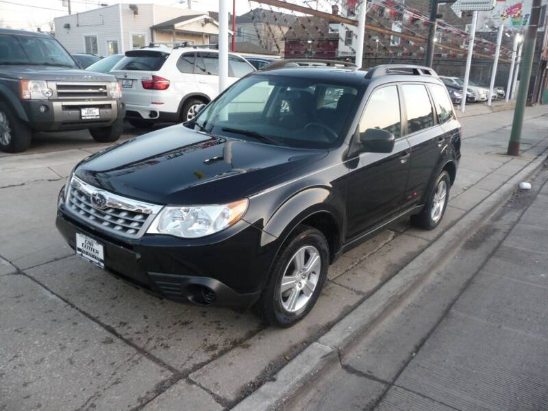 2012 Subaru Forester for sale at CAR CENTER INC in Chicago IL