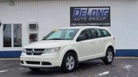 2013 Dodge Journey for sale at DeLong Auto Group in Tipton IN