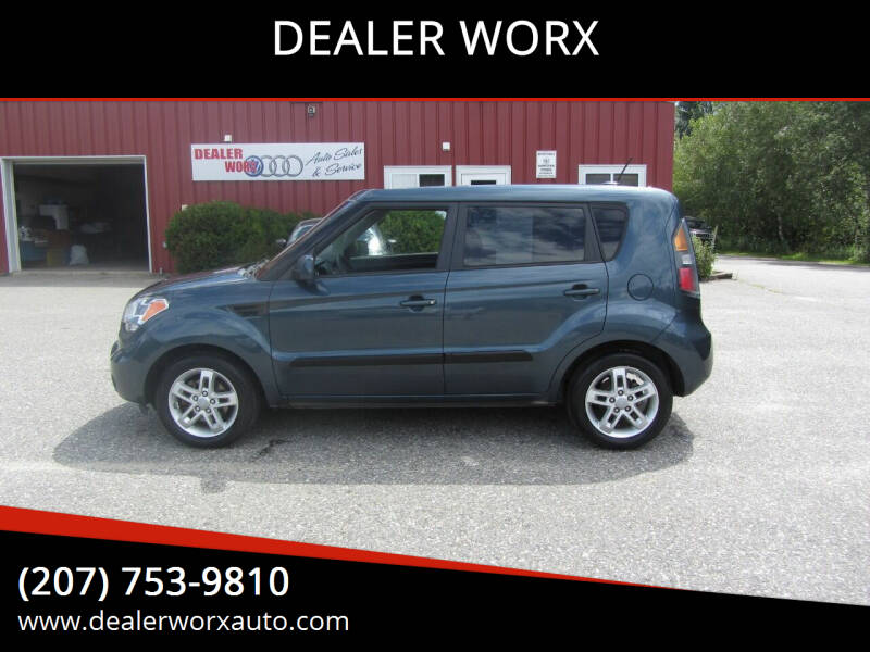 2011 Kia Soul for sale at DEALER WORX in Auburn ME