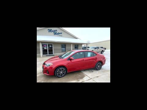 2014 Toyota Corolla for sale at Moser Motors Of Portland in Portland IN