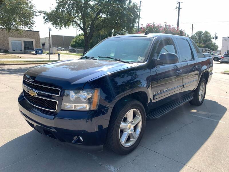 2009 Chevrolet Avalanche for sale at Vitas Car Sales in Dallas TX