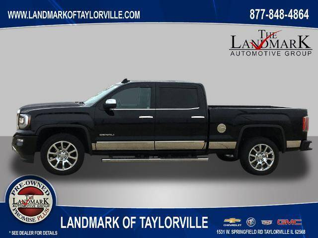2018 GMC Sierra 1500 for sale at LANDMARK OF TAYLORVILLE in Taylorville IL
