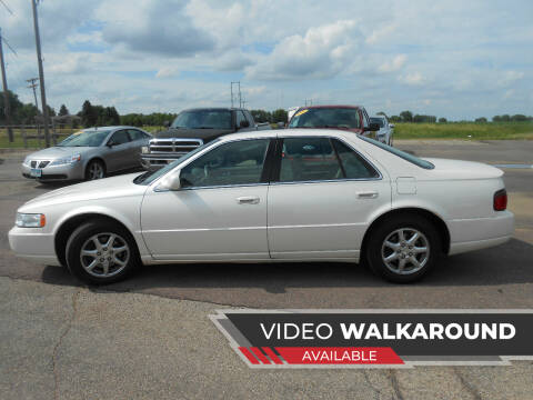 2002 Cadillac Seville for sale at Salmon Automotive Inc. in Tracy MN