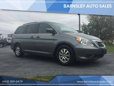 2009 Honda Odyssey for sale at Barnsley Auto Sales in Oxford PA