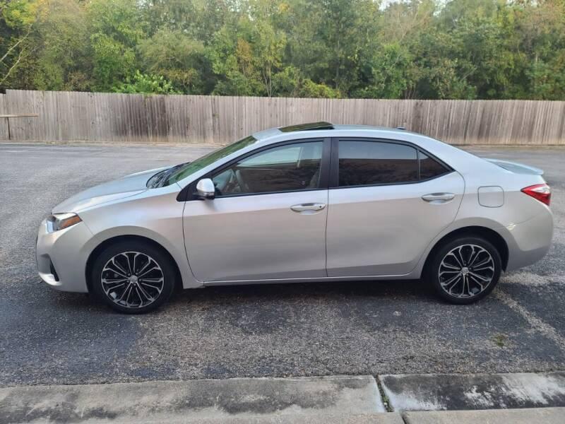 2016 Toyota Corolla S Premium 4dr Sedan - Houston TX