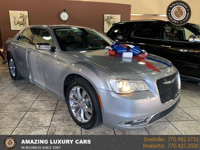 2018 Chrysler 300 for sale at Amazing Luxury Cars in Snellville GA