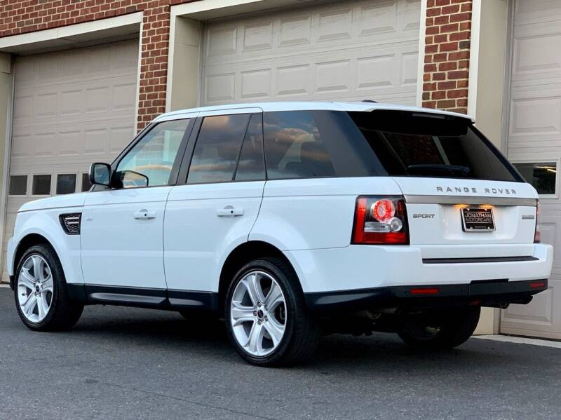 2012 Land Rover Range Rover for sale at Econo Auto Sales Inc in Raleigh NC