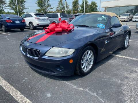 2005 BMW Z4 for sale at Charlotte Auto Group, Inc in Monroe NC