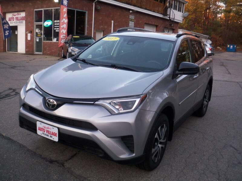 2017 Toyota RAV4 for sale at Charlies Auto Village in Pelham NH