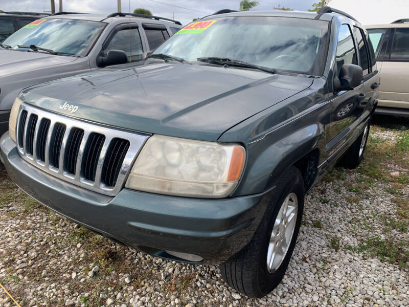 2002 Jeep Grand Cherokee for sale at EXECUTIVE CAR SALES LLC in North Fort Myers FL