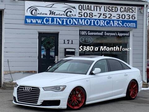 2016 Audi A6 for sale at Clinton MotorCars in Shrewsbury MA