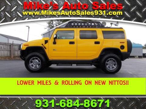 2006 HUMMER H2 for sale at Mike's Auto Sales in Shelbyville TN