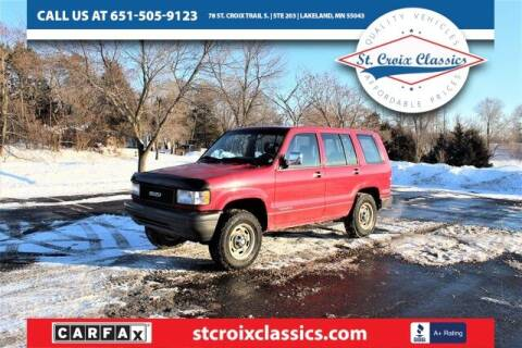 1993 Isuzu Trooper for sale at St. Croix Classics in Lakeland MN