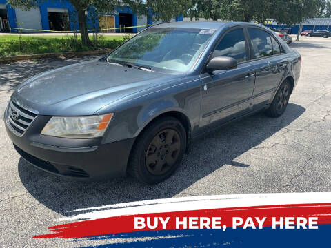 2009 Hyundai Sonata for sale at Mid City Motors Auto Sales - Mid City North in N Fort Myers FL