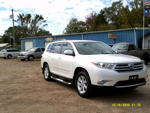 2012 Toyota Highlander for sale at Tom Boyd Motors in Texarkana TX