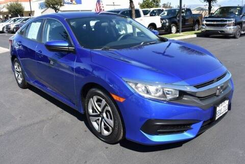 2018 Honda Civic for sale at DIAMOND VALLEY HONDA in Hemet CA