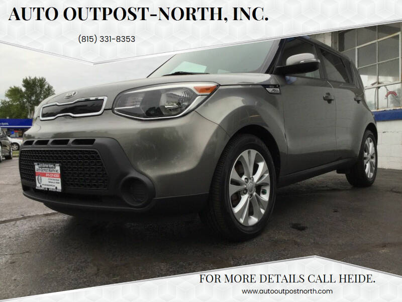 2014 Kia Soul for sale at Auto Outpost-North, Inc. in McHenry IL